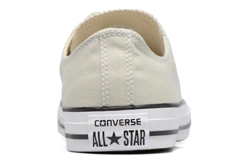 Baskets Converse Chuck Taylor All Star Ox M Beige vue droite