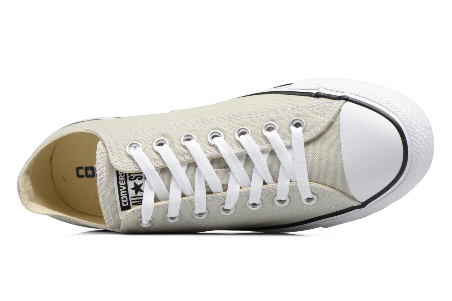 Sneaker Converse Chuck Taylor All Star Ox M beige ansicht von links