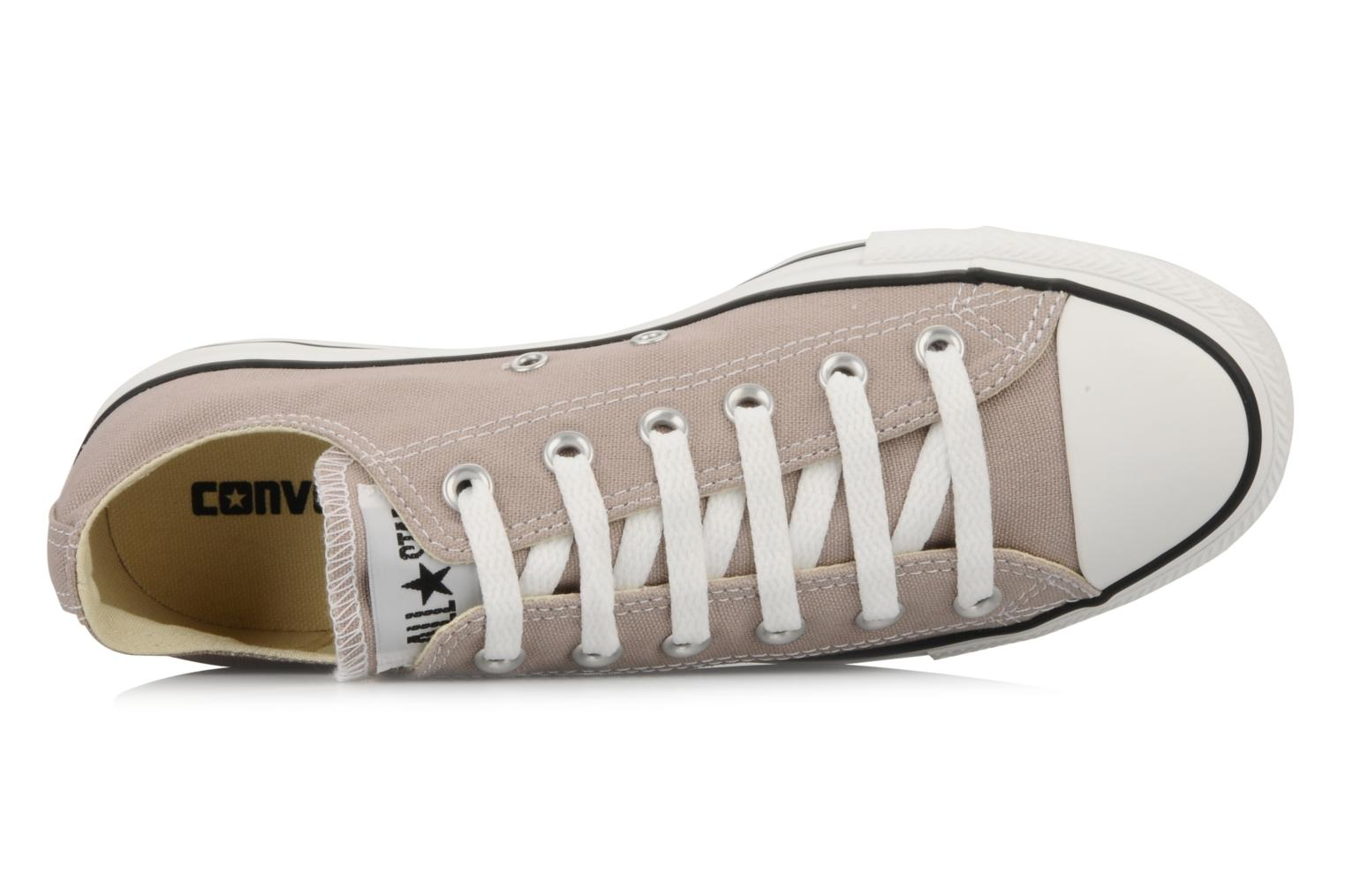 Trainers Converse Chuck Taylor All Star Ox M Pink view from the left