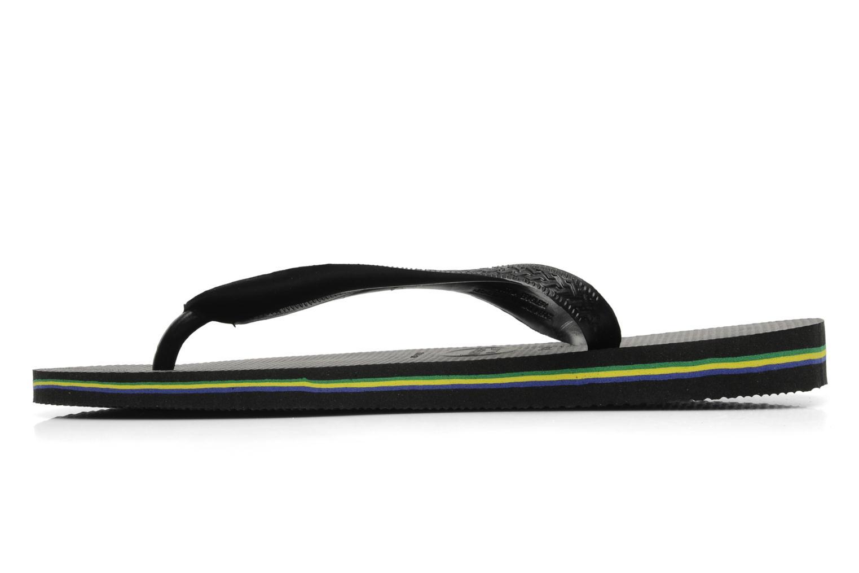 Slippers Havaianas Brazil H Zwart voorkant