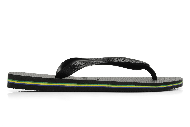 Slippers Havaianas Brazil H Zwart achterkant