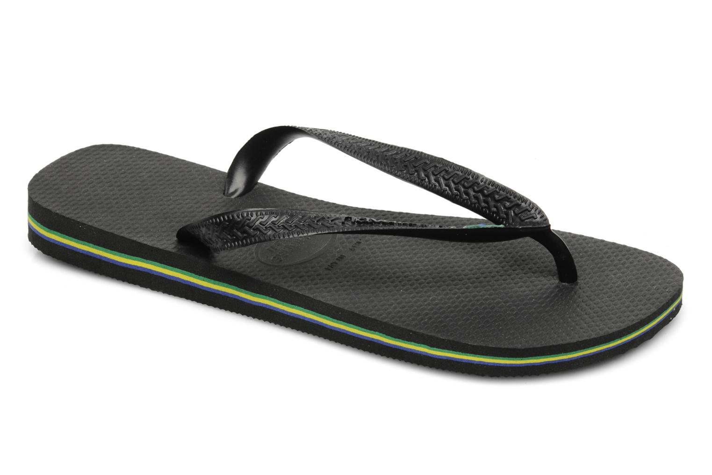 Slippers Havaianas Brazil H Zwart detail
