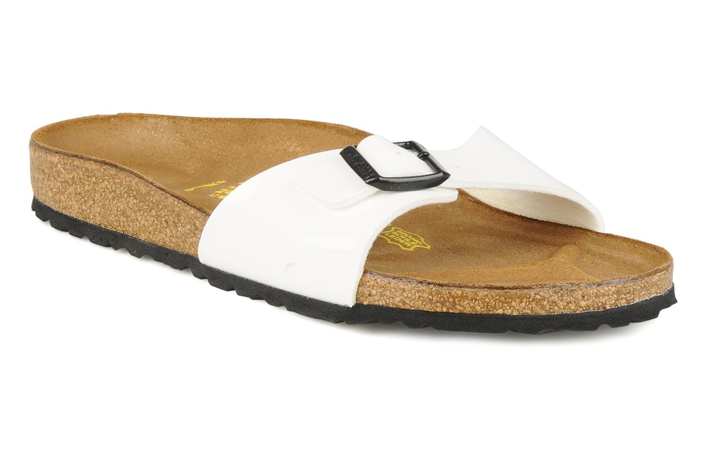 Grandes descuentos últimos zapatos Birkenstock Madrid Flor W (Blanco) - Zuecos Descuento