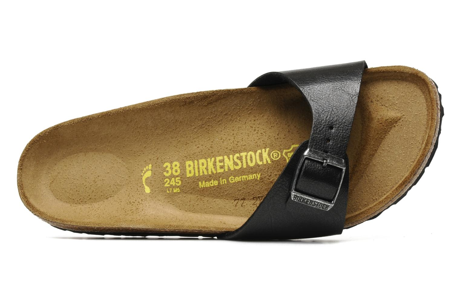 Wedges Birkenstock Madrid Flor W Zwart links