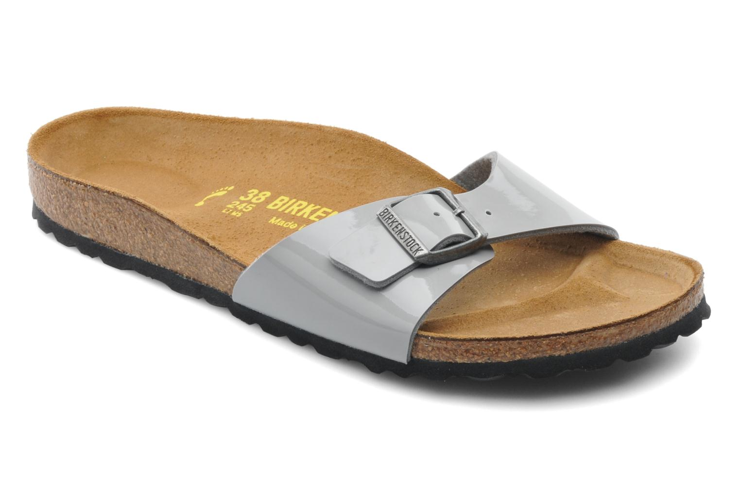 Mules & clogs Birkenstock Madrid Flor W Grey detailed view/ Pair view
