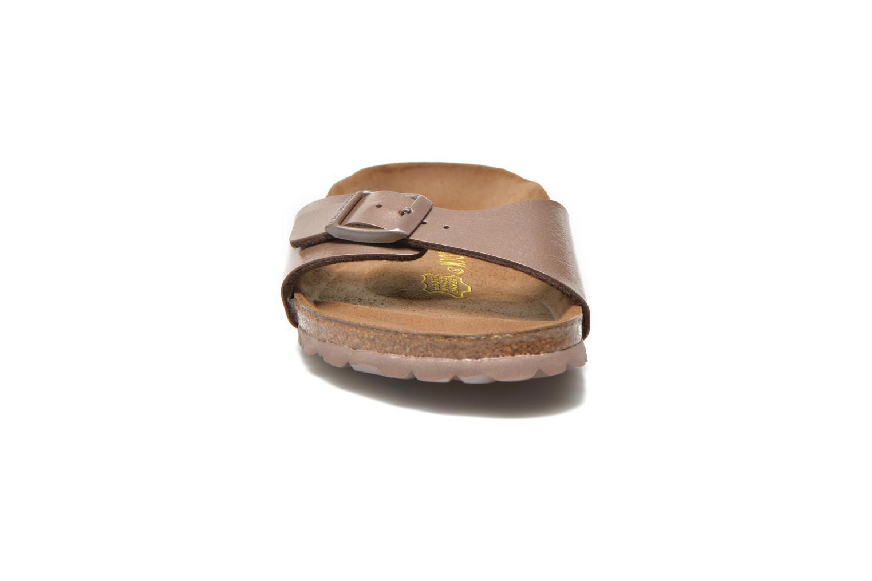 Mules et sabots Birkenstock Madrid Flor W Gris vue portées chaussures