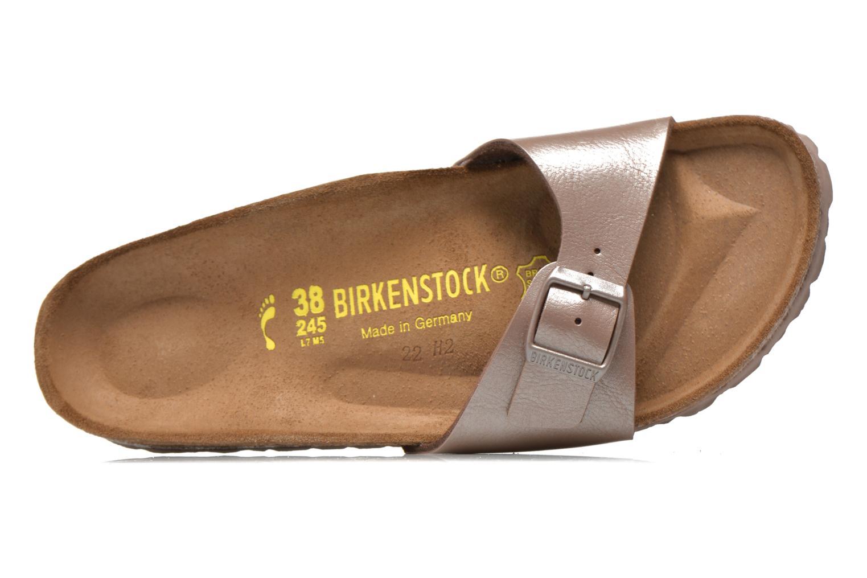 Mules et sabots Birkenstock Madrid Flor W Gris vue gauche