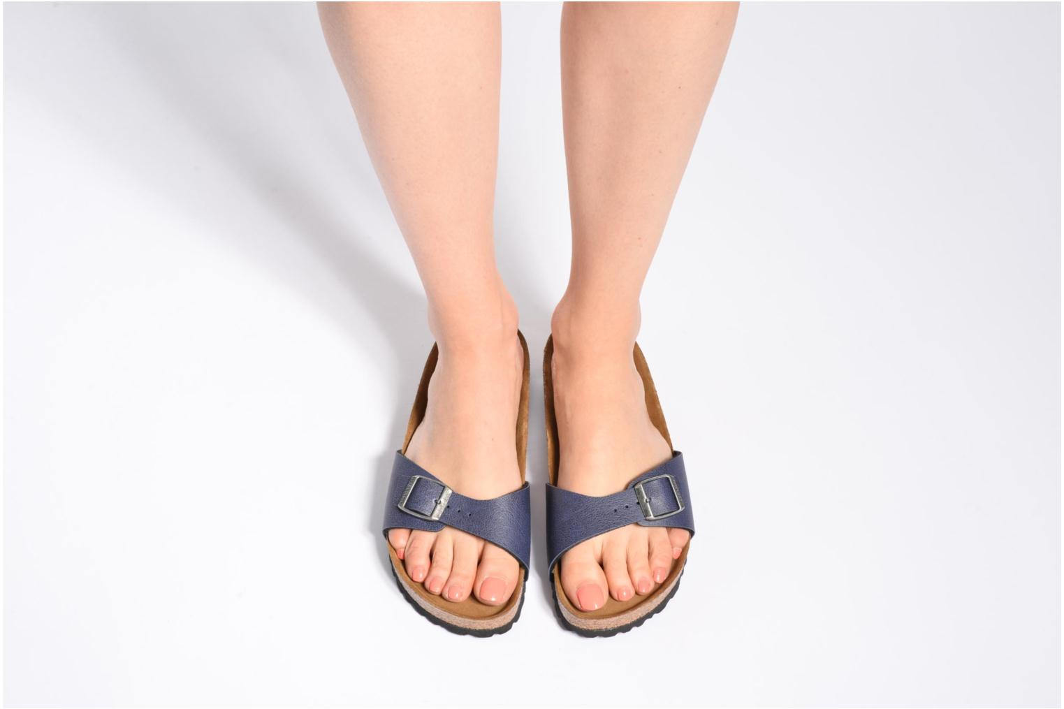 Mules & clogs Birkenstock Madrid Flor W Blue view from underneath / model view