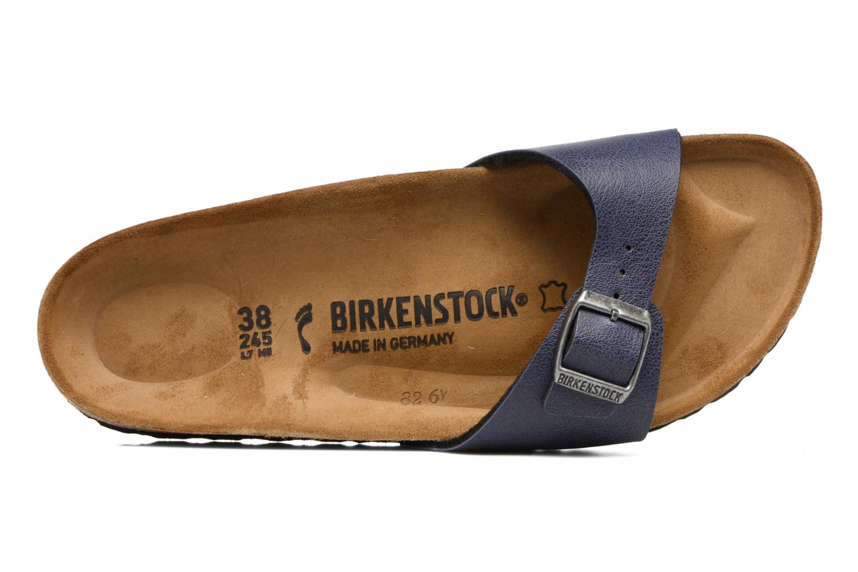 Träskor & clogs Birkenstock Madrid Flor W Blå bild från vänster sidan