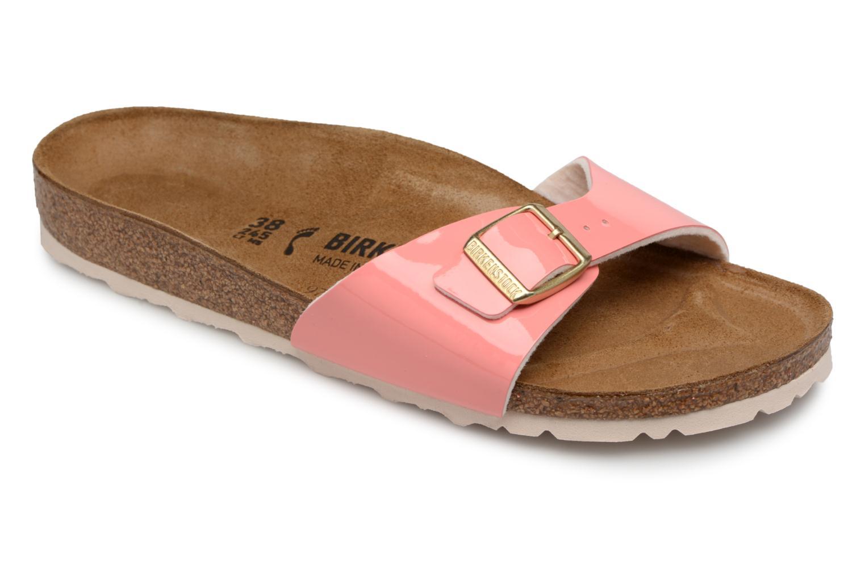 Grandes descuentos últimos zapatos Birkenstock Madrid Flor W (Naranja) - Zuecos Descuento
