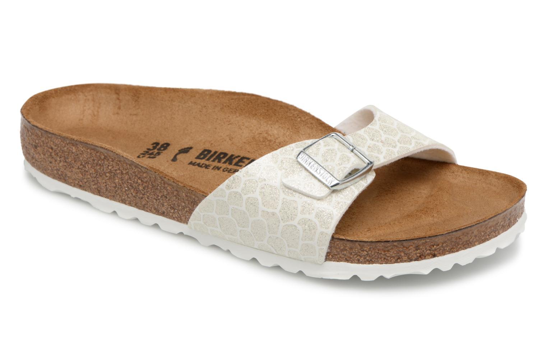 Los zapatos más populares para hombres y mujeres Birkenstock Madrid Flor W (Blanco) - Zuecos en Más cómodo