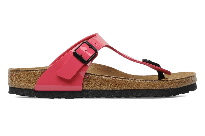 Sandali e scarpe aperte Birkenstock Gizeh Flor W Rosa immagine posteriore