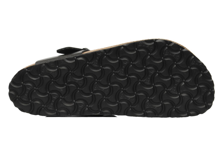 Sandali e scarpe aperte Birkenstock Gizeh Flor W Nero immagine dall'alto