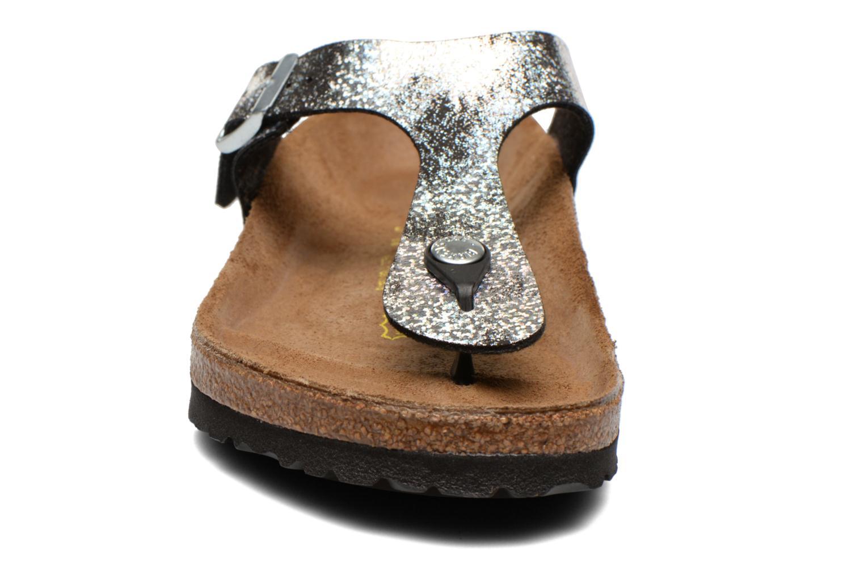 Sandals Birkenstock Gizeh Flor W Silver model view