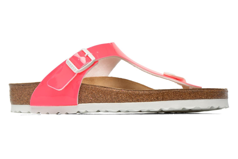 Sandales et nu-pieds Birkenstock Gizeh Flor W Rose vue derrière