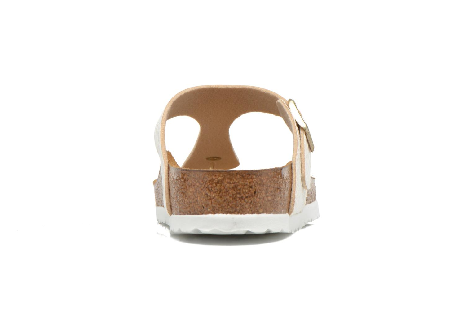 Sandals Birkenstock Gizeh Flor W Beige view from the right