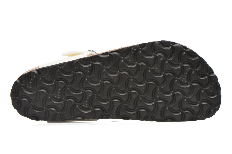 Sandali e scarpe aperte Birkenstock Gizeh Flor W Bianco immagine dall'alto