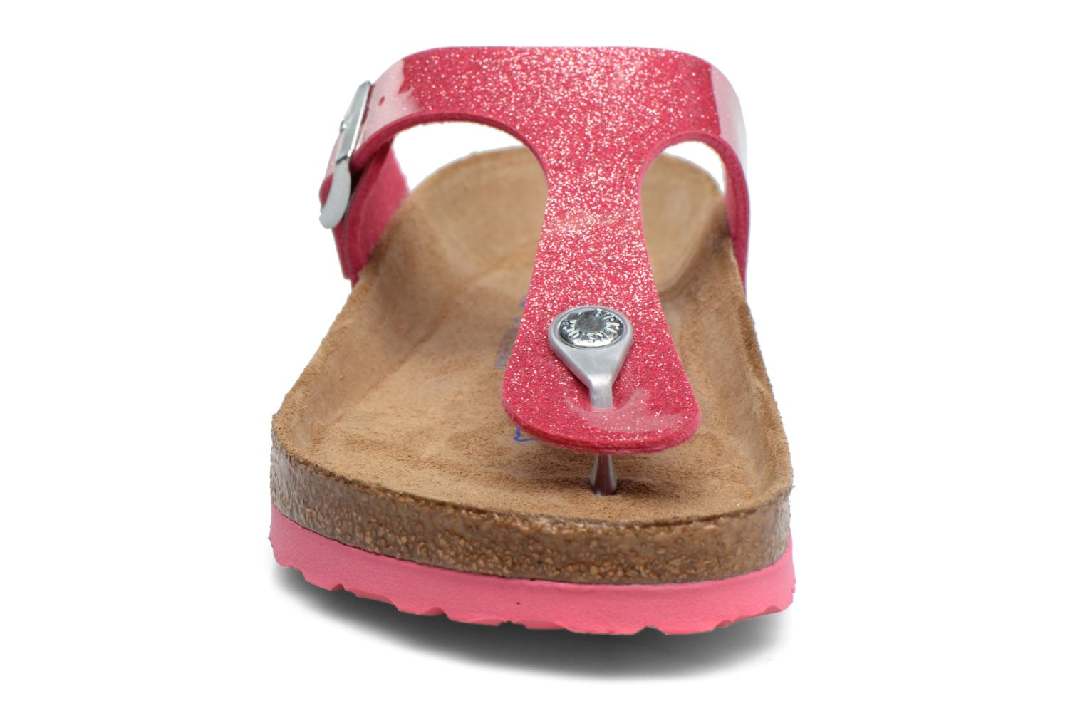 Sandals Birkenstock Gizeh Flor W Pink model view