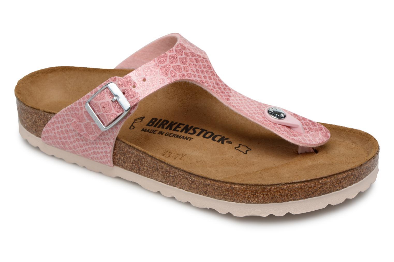 Grandes descuentos últimos zapatos Birkenstock Gizeh Flor W (Rosa) - Sandalias Descuento