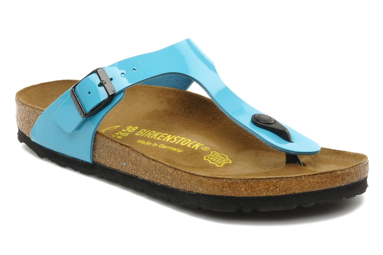 Gizeh Flor W Vernis Blue Turquoise