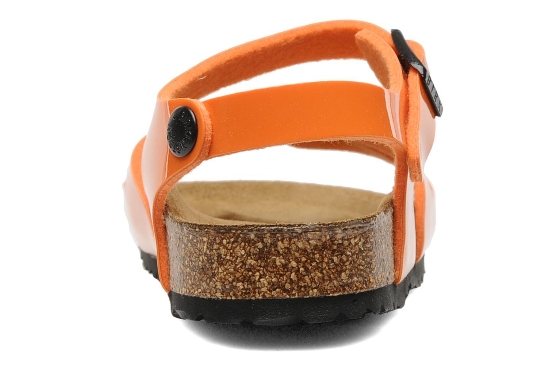Sandales et nu-pieds Birkenstock Rio Flor E Orange vue droite