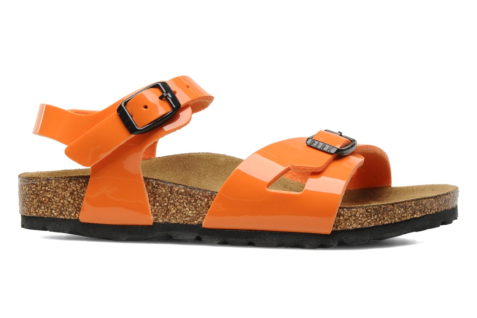 Sandals Birkenstock Rio Flor E Orange back view
