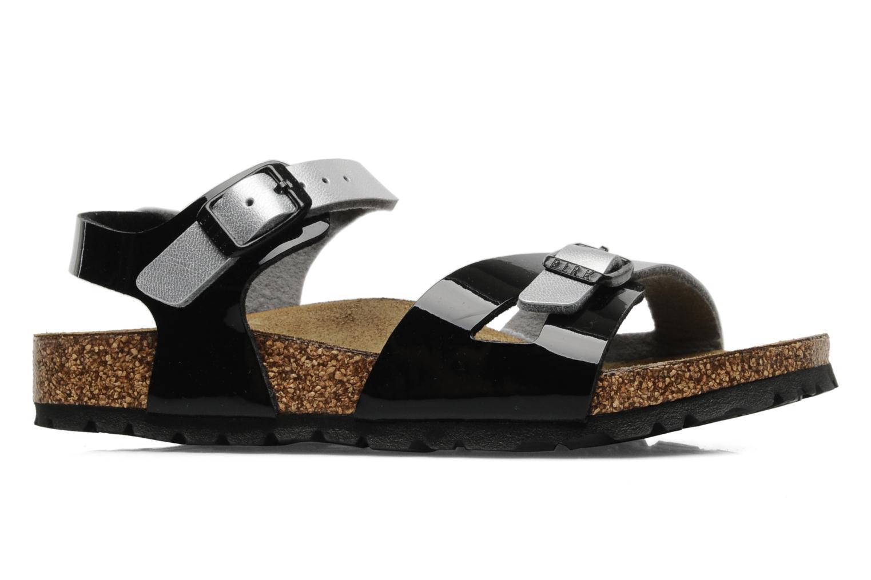 Sandalen Birkenstock Rio Flor E schwarz ansicht von hinten
