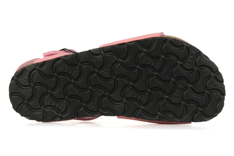 Sandalen Birkenstock Rio Flor E Roze boven