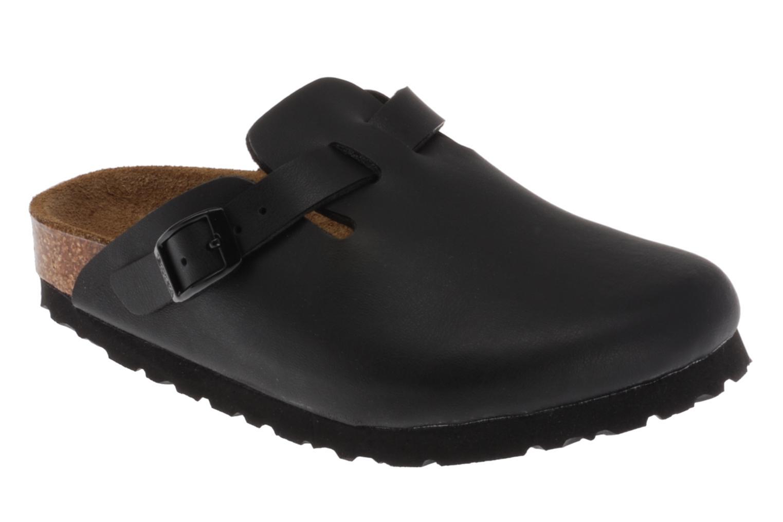 Sandaler Birkenstock Woodby Birko Flor E Sort detaljeret billede af skoene