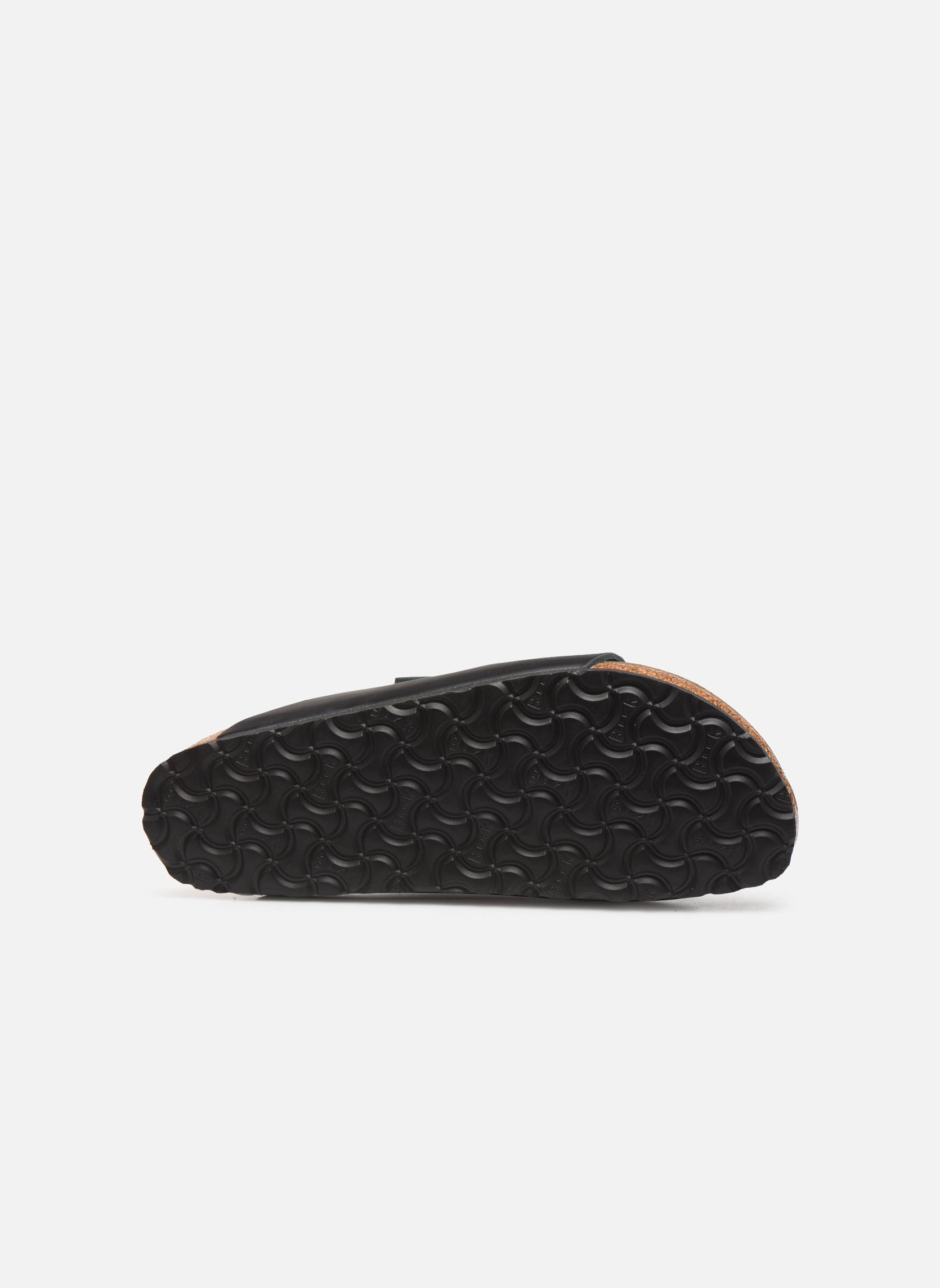 Sandalen Birkenstock Arizona Cuir M schwarz ansicht von oben
