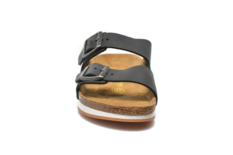 Sandalen Birkenstock Arizona Cuir M Zwart model
