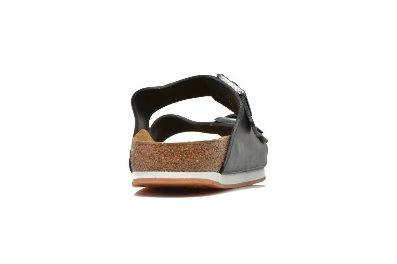 Sandalen Birkenstock Arizona Cuir M Zwart rechts