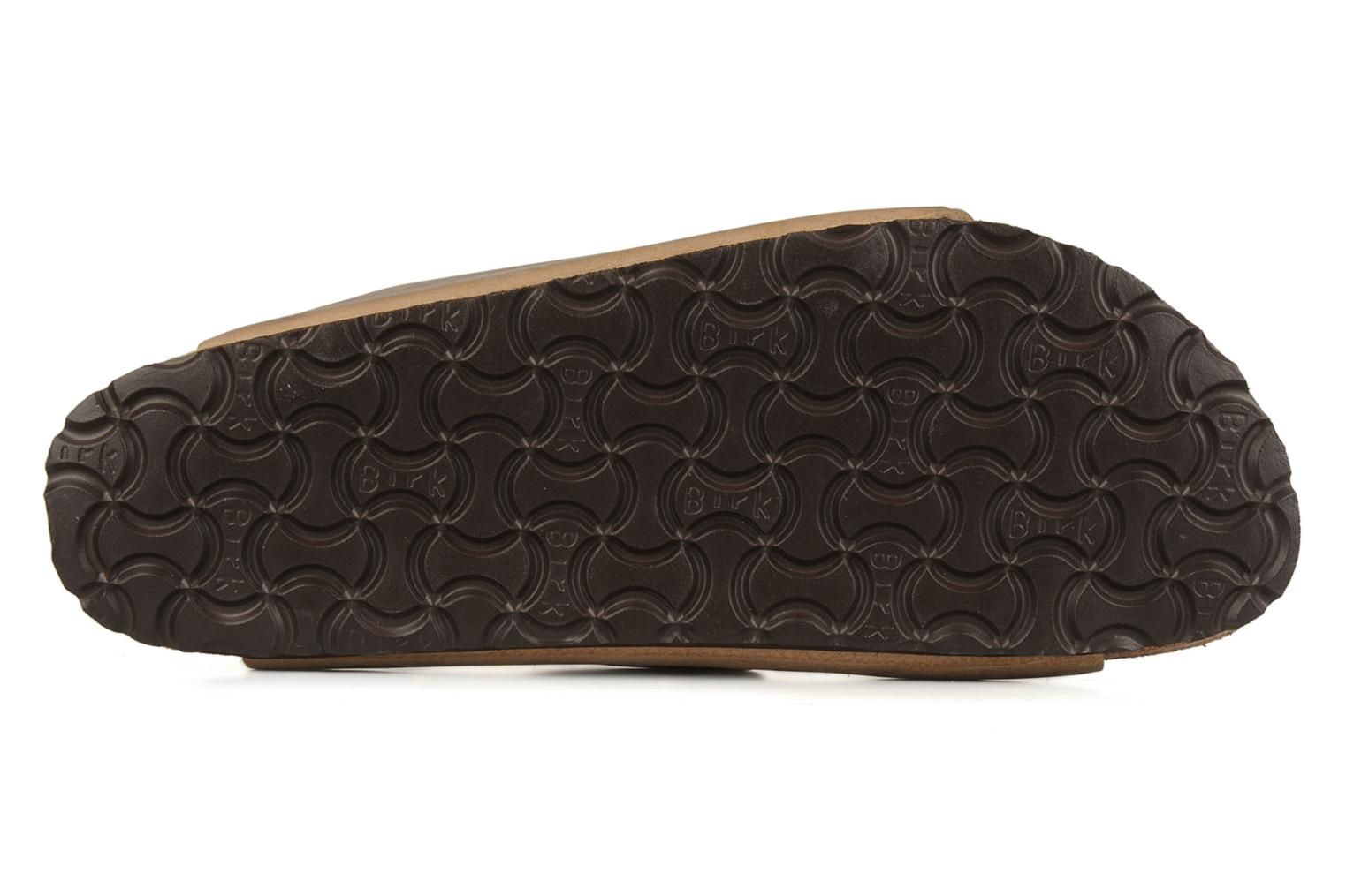 Sandals Birkenstock Arizona Cuir M Brown view from above