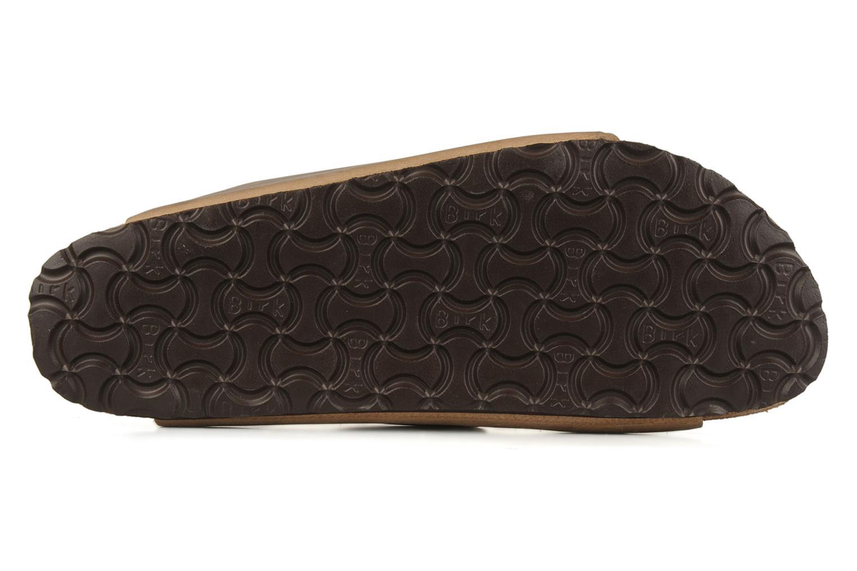 Sandalen Birkenstock Arizona Cuir M braun ansicht von oben