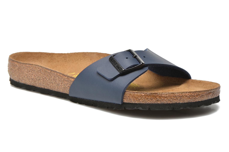 Birkenstock Madrid Flor M (Bleu) - Sandales et nu-pieds chez Sarenza (259829)