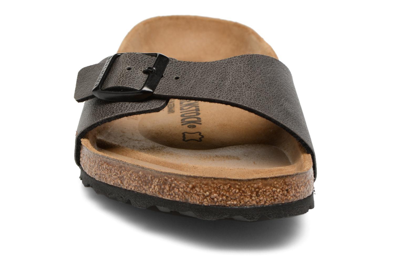 Sandals Birkenstock Madrid Flor M Grey model view