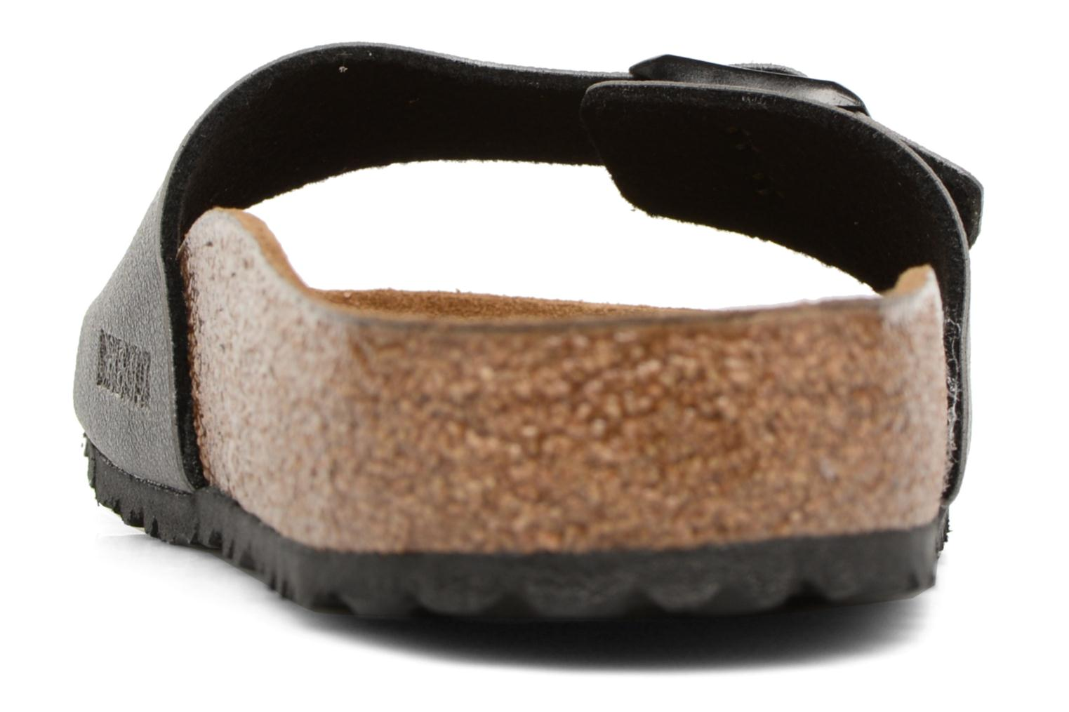 Sandals Birkenstock Madrid Flor M Grey view from the right