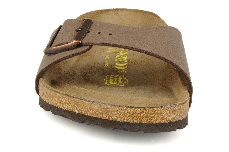 Sandalen Birkenstock Madrid Flor M beige schuhe getragen