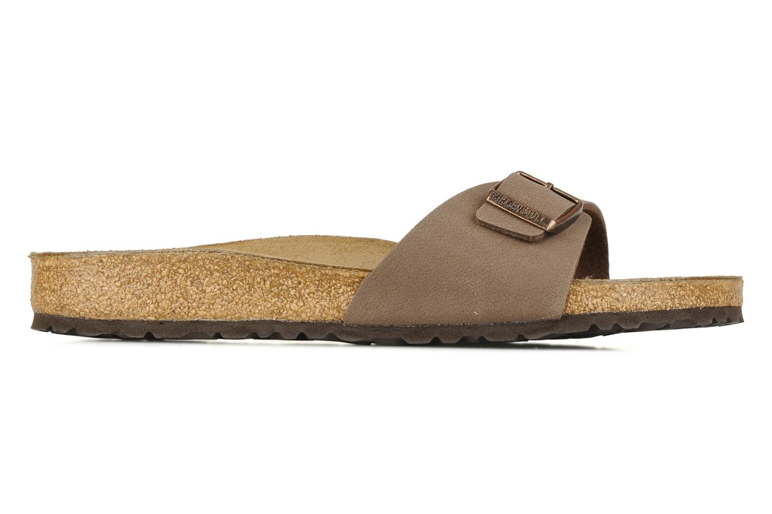 Sandals Birkenstock Madrid Flor M Beige back view