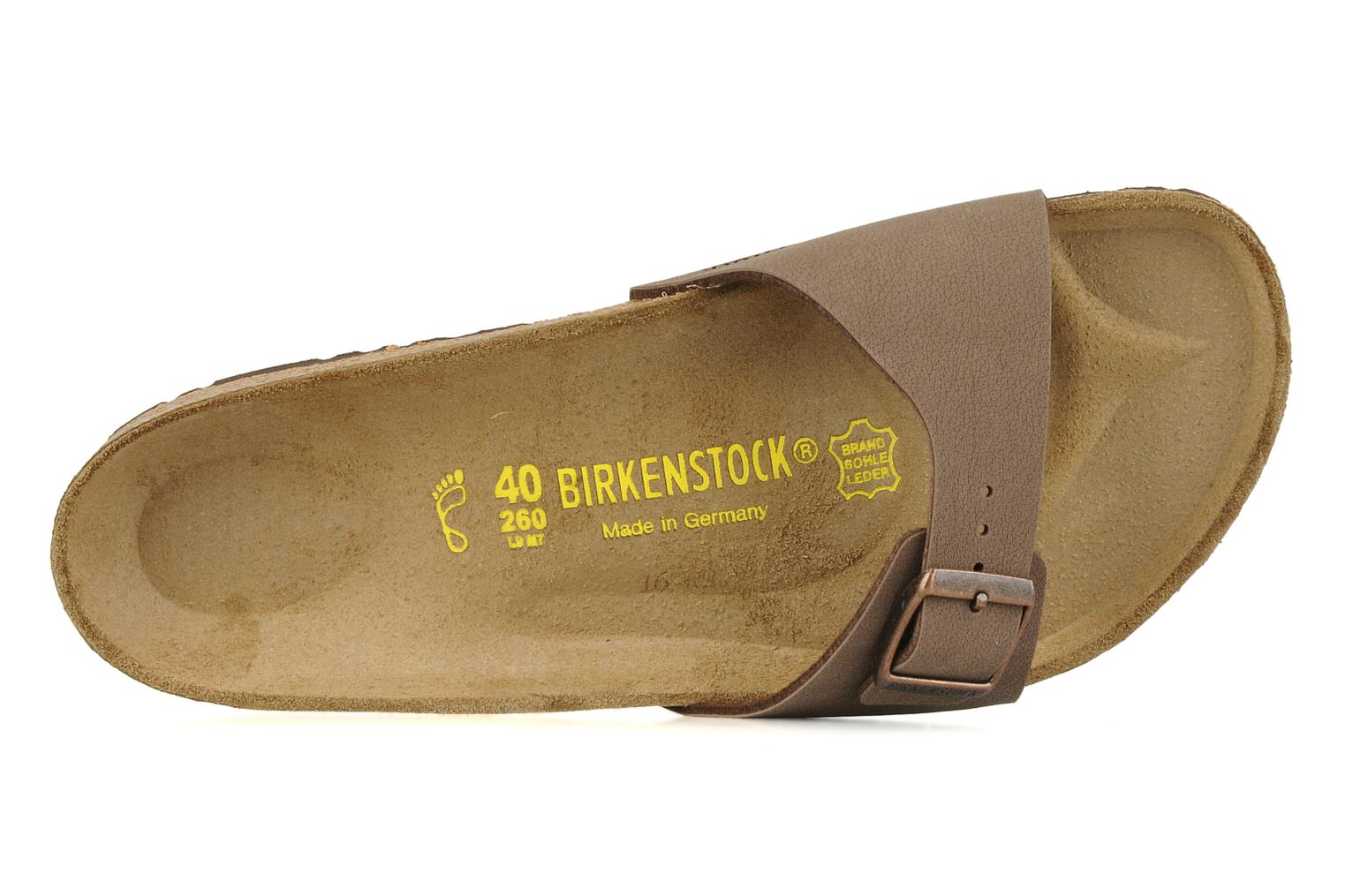 Sandals Birkenstock Madrid Flor M Beige view from the left