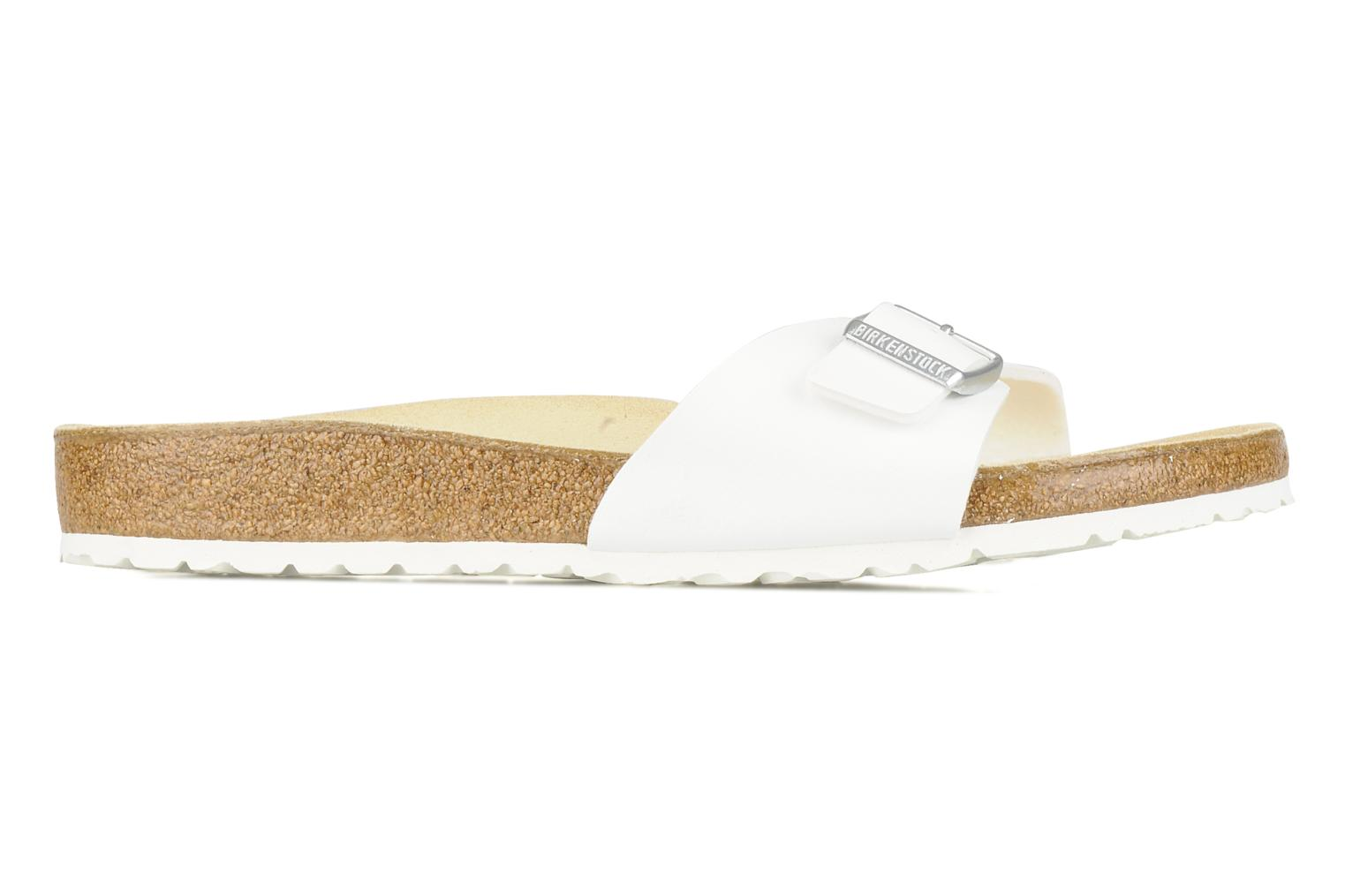 Sandals Birkenstock Madrid Flor M White back view