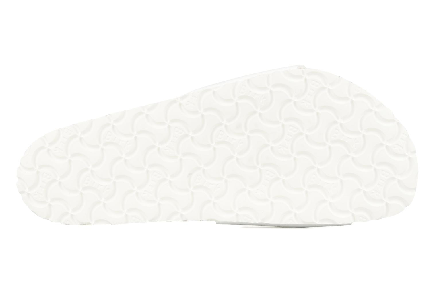 Sandals Birkenstock Madrid Flor M White view from above