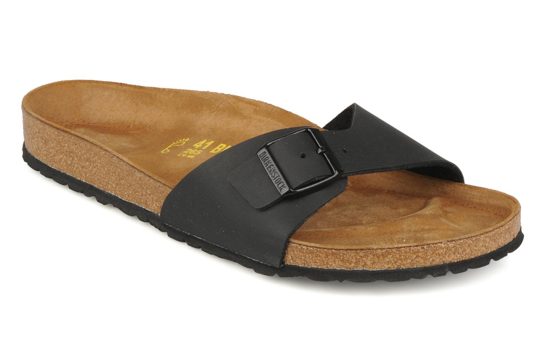 Sandaler Birkenstock Madrid Flor M Sort detaljeret billede af skoene