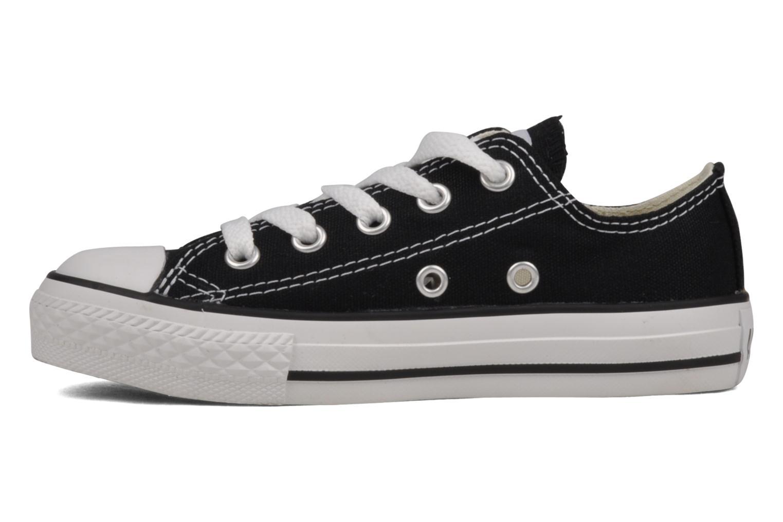 Sneaker Converse Chuck Taylor All Star Ox K schwarz ansicht von vorne