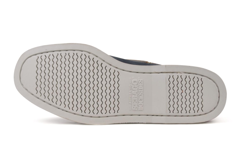 Lace-up shoes Sebago Spinnaker Blue model view
