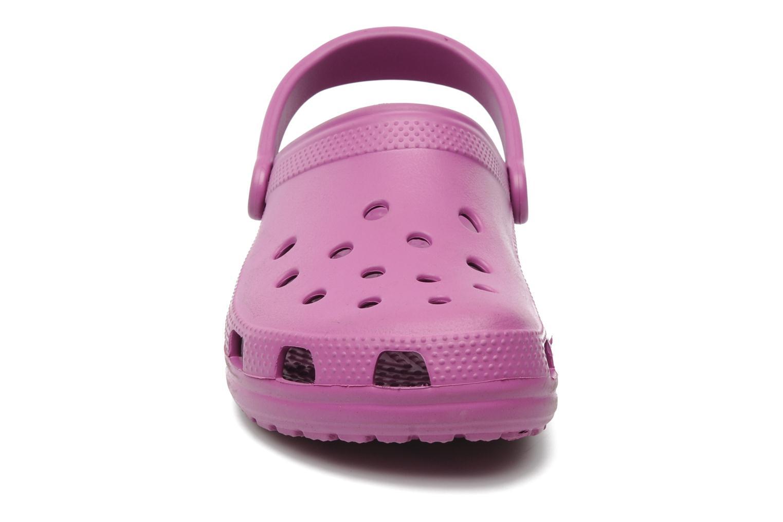 Mules & clogs Crocs Cayman F Pink model view