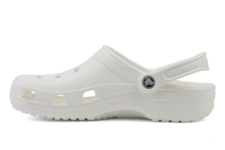 Clogs og træsko Crocs Classic F Hvid se forfra