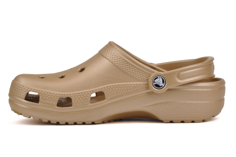 Träskor & clogs Crocs Classic F Bronze och Guld bild från framsidan