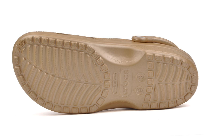Träskor & clogs Crocs Classic F Bronze och Guld bild från ovan