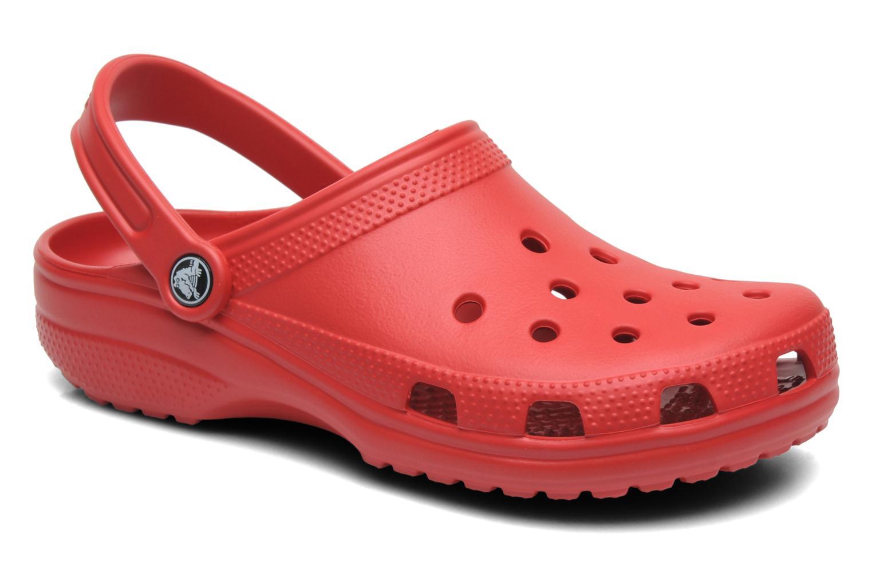 Clogs og træsko Crocs Classic F Bordeaux detaljeret billede af skoene